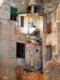 σπίτι που καταστρέφεται Στοκ Φωτογραφία