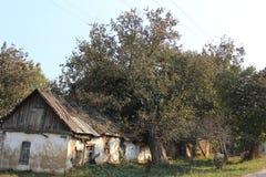 σπίτι που καταστρέφεται Στοκ Εικόνες