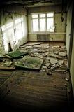σπίτι που καταστρέφεται Στοκ εικόνα με δικαίωμα ελεύθερης χρήσης