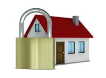 σπίτι που προστατεύεται ελεύθερη απεικόνιση δικαιώματος