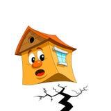 σπίτι που φοβάται απεικόνιση αποθεμάτων