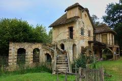 Σπίτι που χτίζεται από τη Marie Antoinette, Βερσαλλίες στοκ φωτογραφίες με δικαίωμα ελεύθερης χρήσης