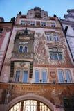 σπίτι Πράγα Στοκ εικόνες με δικαίωμα ελεύθερης χρήσης