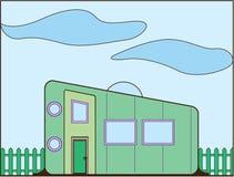 Σπίτι ρυμουλκών διανυσματική απεικόνιση
