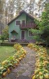 Σπίτι Σαββατοκύριακου Στοκ εικόνες με δικαίωμα ελεύθερης χρήσης