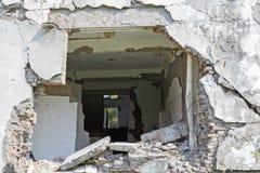 Σπίτι σεισμού Στοκ Εικόνα