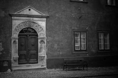 Σπίτι σε ÄŒeskà ½ Krumlov Στοκ Εικόνα