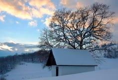 Σπίτι σε ένα χωριουδάκι στοκ εικόνες