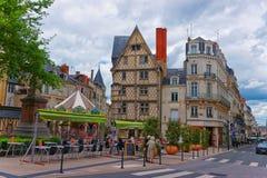 Σπίτι σε ισχύ Sainte Croix του Adam στη Angers στη Γαλλία Στοκ Φωτογραφία