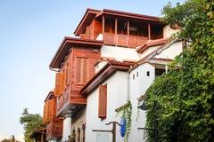 Σπίτι σε Antalya Oldtown, Τουρκία Στοκ Εικόνα