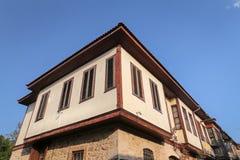 Σπίτι σε Antalya Oldtown, Τουρκία Στοκ Εικόνες