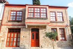 Σπίτι σε Antalya Oldtown, Τουρκία Στοκ φωτογραφία με δικαίωμα ελεύθερης χρήσης