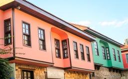 Σπίτι σε Antalya Oldtown, Τουρκία Στοκ εικόνα με δικαίωμα ελεύθερης χρήσης