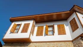 Σπίτι σε Antalya Oldtown, Τουρκία Στοκ Φωτογραφία