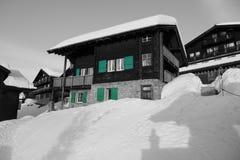 Σπίτι σε Bettmeralp Στοκ φωτογραφία με δικαίωμα ελεύθερης χρήσης