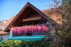 Σπίτι σε Esztergom Στοκ Εικόνα