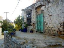 Σπίτι σε Hydra, Ελλάδα Στοκ Εικόνες