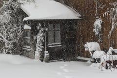 Σπίτι σε Parpan Στοκ εικόνες με δικαίωμα ελεύθερης χρήσης