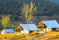 Σπίτι σκηνών στο Νεπάλ Στοκ φωτογραφία με δικαίωμα ελεύθερης χρήσης