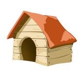Σπίτι σκυλιών Ελεύθερη απεικόνιση δικαιώματος