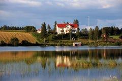 σπίτι σουηδικά Στοκ Εικόνες