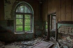 Σπίτι στην ερήμωση στοκ εικόνες