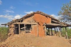 Σπίτι στην καταστροφή Στοκ Εικόνες