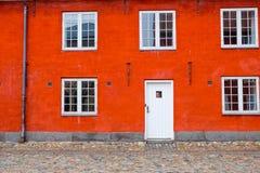 Σπίτι στην Κοπεγχάγη, Δανία Στοκ Εικόνες