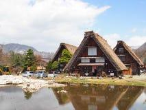 Σπίτι στην παλαιά πόλη Shirakawako Στοκ Εικόνες