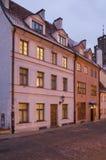 Σπίτι στην παλαιά Ρήγα Λετονία Στοκ Εικόνα