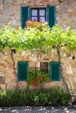 Σπίτι στην Τοσκάνη, Ιταλία Στοκ εικόνες με δικαίωμα ελεύθερης χρήσης
