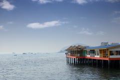 Σπίτι στη θάλασσα Στοκ φωτογραφίες με δικαίωμα ελεύθερης χρήσης