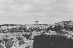 Σπίτι στις πέτρες στοκ εικόνες με δικαίωμα ελεύθερης χρήσης