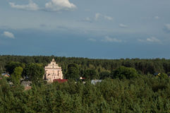 Σπίτι στο δάσος Στοκ Εικόνες