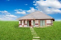 Σπίτι στο έδαφος στοκ φωτογραφία με δικαίωμα ελεύθερης χρήσης