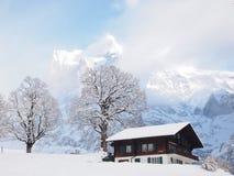 Σπίτι στο βουνό Στοκ φωτογραφία με δικαίωμα ελεύθερης χρήσης
