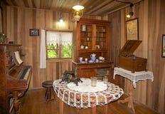 Σπίτι στο γερμανικό μουσείο σε Frutillar, Χιλή στοκ εικόνα