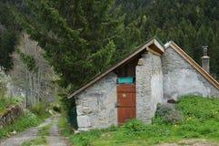 σπίτι στο νότο της Γαλλίας στη φύση Στοκ Εικόνα
