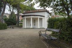 Σπίτι στο πάρκο, Opatija, Κροατία στοκ εικόνα με δικαίωμα ελεύθερης χρήσης