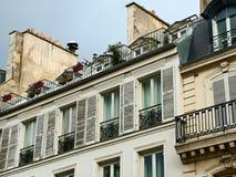 Σπίτι στο Παρίσι, Γαλλία Στοκ εικόνες με δικαίωμα ελεύθερης χρήσης
