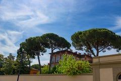 Σπίτι στο τετράγωνο των θαυμάτων, dei Miracoli, Πίζα, Ιταλία πλατειών Στοκ φωτογραφία με δικαίωμα ελεύθερης χρήσης