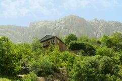 Σπίτι στο λόφο στοκ εικόνα