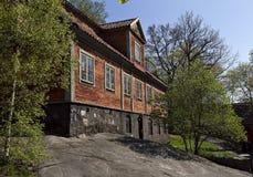 Σπίτι στο λόφο Στοκ εικόνες με δικαίωμα ελεύθερης χρήσης