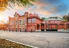 Σπίτι στο ύφος Nouveau τέχνης Στοκ φωτογραφία με δικαίωμα ελεύθερης χρήσης