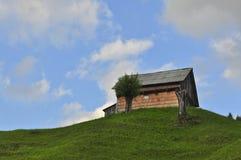 Σπίτι στο clif Στοκ Εικόνες