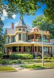 Σπίτι στο Oak Park Στοκ Φωτογραφίες