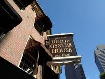 Σπίτι στρειδιών ένωσης του YE Olde, Βοστώνη, Μασαχουσέτη, ΗΠΑ Στοκ εικόνα με δικαίωμα ελεύθερης χρήσης