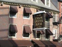 Σπίτι στρειδιών ένωσης, Βοστώνη, Μασαχουσέτη, ΗΠΑ Στοκ εικόνα με δικαίωμα ελεύθερης χρήσης