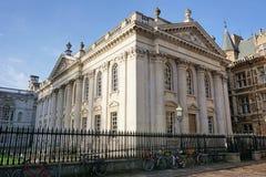 Σπίτι Συγκλήτου και ποδήλατα, Καίμπριτζ, Αγγλία Στοκ Φωτογραφίες