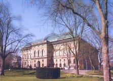 Σπίτι συλλογής τέχνης στο Ντίσελντορφ Στοκ Εικόνα